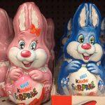 オーストラリアのイースターチョコエッグ売り場の写真!イースターバスケット集!